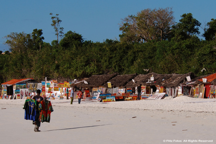 The Beach Market, Zanzibar