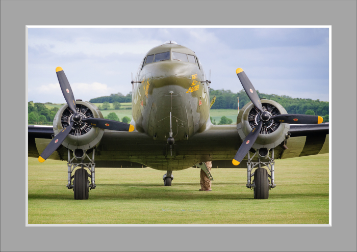 Mounted Print of C47 - That's All Brother 1