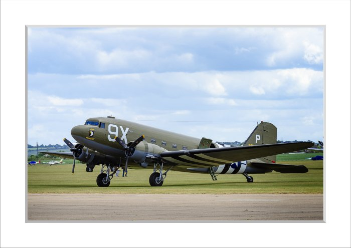 Mounted Print of C47 - Rendezvous with Destiny